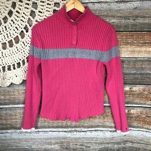 Sweet & Sassy PINK LOGO Tommy Hilfiger Sweater!